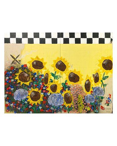 TEDDY BENFIELD, MFA 18 - Farm Flowers 2
