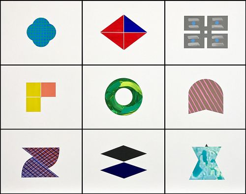 TIMOTHY KADISH, Diploma 06, 5th Yr 07 - Building Blocks Grid of 9: A87-A95