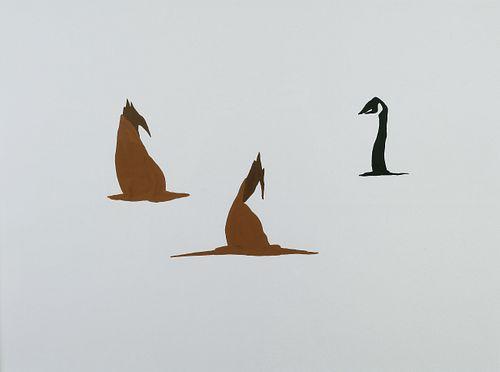 SANDRINE SCHAEFER, BFA 04 - goose study no. 39