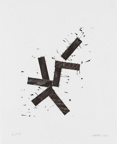 JOEL SHAPIRO - 5748 (For Jewish Museum)