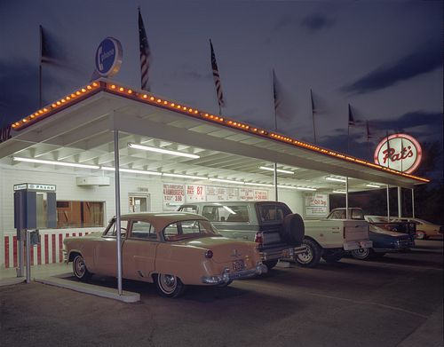 JIM DOW, former faculty - Pat's Drive-In. Tucson, AZ 1980