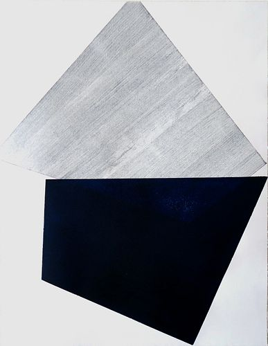 DANIELA RIVERO, Post Bac 19  - Blue and Grey Series 005