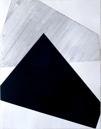 DANIELA RIVERO, Post Bac 19 - Blue and Grey Series 007
