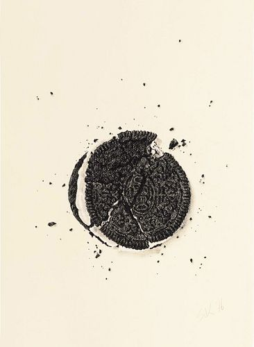 SOOJIN KIM, MFA 18 - Cracked Oreo No 41