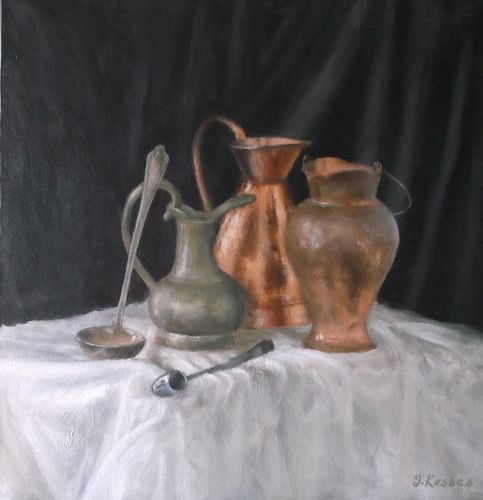JEFF KESSES, Diploma 93 - Still Life with Soup Ladle