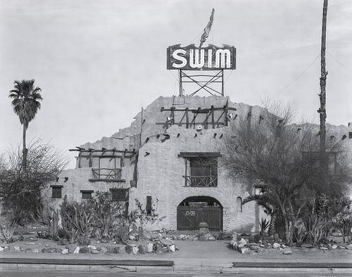 JIM DOW, former faculty - Municipal Swimming Pool. El Centro, CA 1976