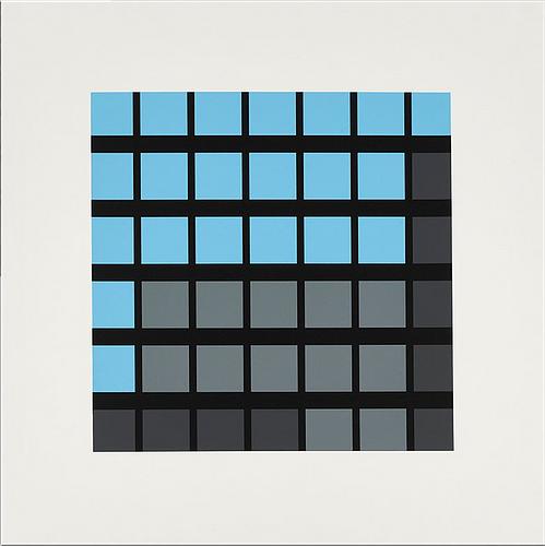 JULIAN OPIE- Office Windows: A3