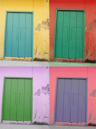 MARCY PAPE, BFA 69 - Four Doors