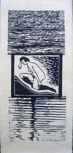 MARY RHINELANDER, MFA 91 - Knee Socks by the Sea