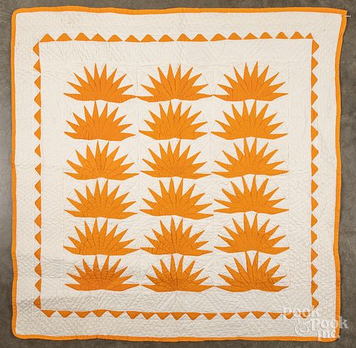 Two pieced crib quilts, late 19th c.