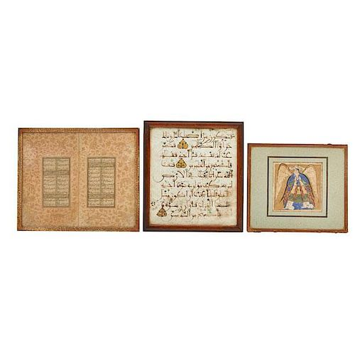 PERSIAN MANUSCRIPT PAGES