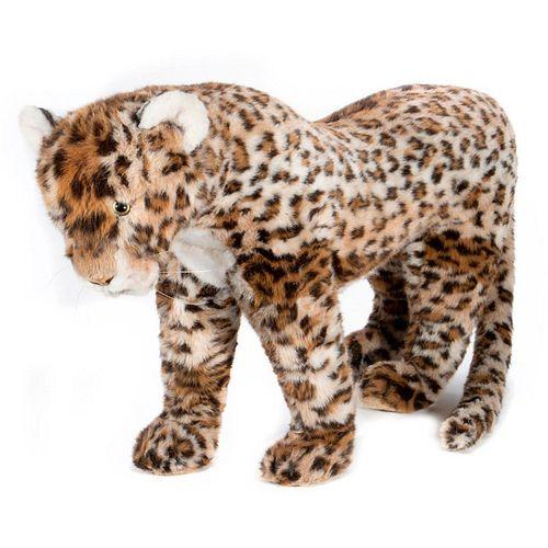 Large Vintage Steiff Leopard Store Display