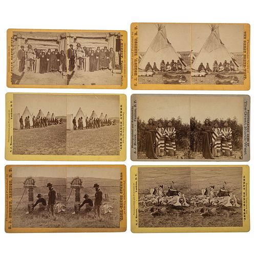 7th Cavalryman Philip J. Dieter, Exceptional Archive Featuring Elizabeth Custer ALS, Signed Engraving, Book, and Inscribed S.J. Morrow Stereoviews