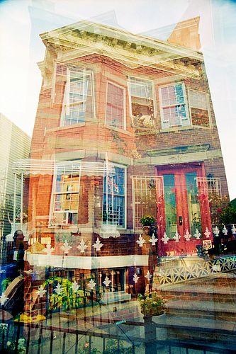 Diana Alsip, Dream Homes, C-Prints, 8x12 inches, 2020 (Set of 3)