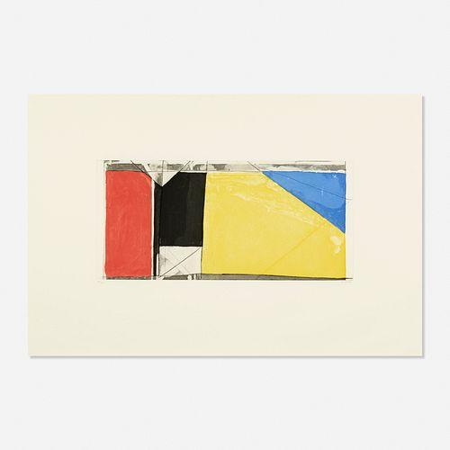 Richard Diebenkorn, Folsom Street Variations III (primaries)