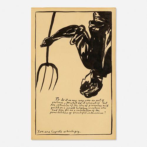 Raymond Pettibon, Cupid's Whirligig