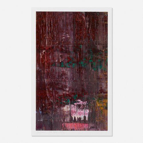 Gerhard Richter, 17 Nov. 1996 (Teil des verworfenen Abstrakten Bildes)