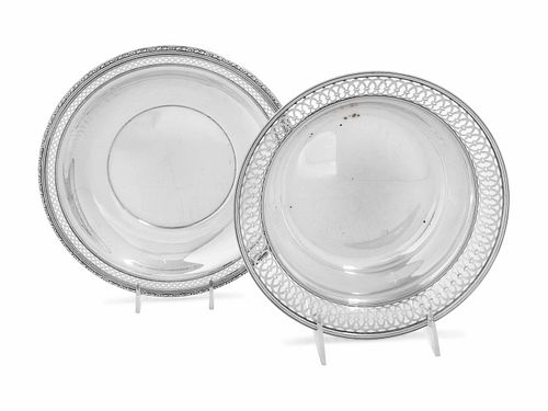 A Collection of American Silver Serving Dishes