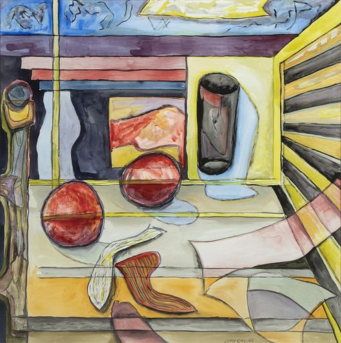 William Lumpkins, Table and Still Life, 1986
