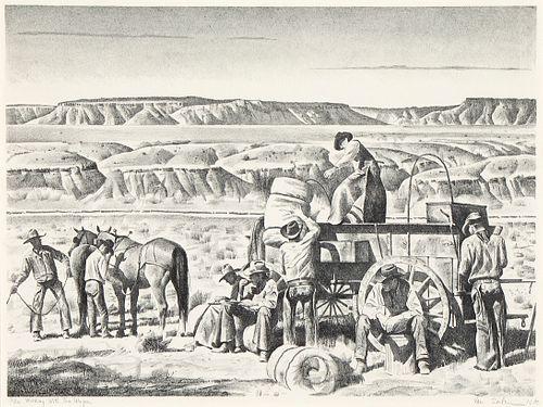 Theodore Van Soelen, Working with the Wagon