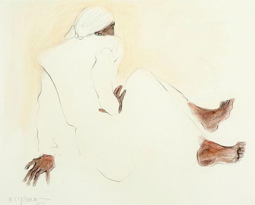 R. C. Gorman, Untitled, 1974