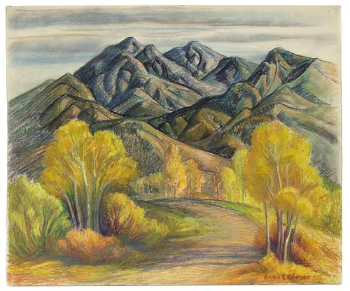 Anna Keener, Untitled (New Mexico Landscape)