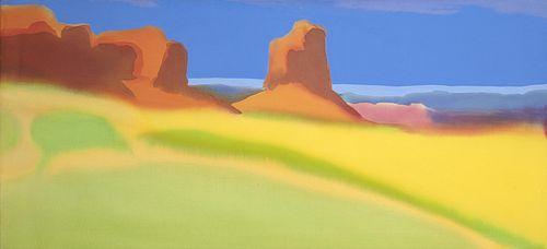 Elizabeth Osborne, Monument Valley, 1974