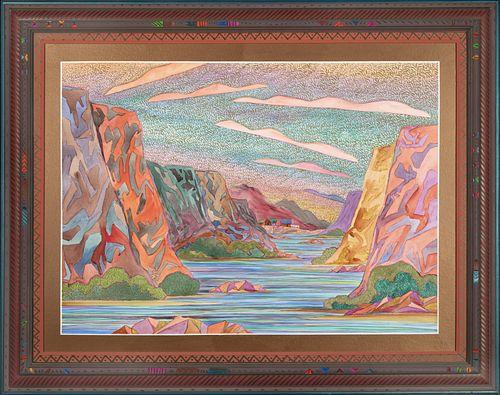Fran Larsen, Calm in the Canyon, 1996