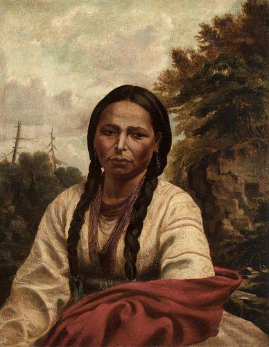 William Armstrong, A Dakota Indian Woman