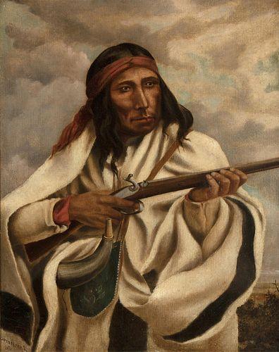 William Armstrong, Te.he.do.ne-cha, 1865