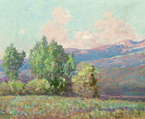 Ralph Meyers, Untitled (Cottonwoods), 1915