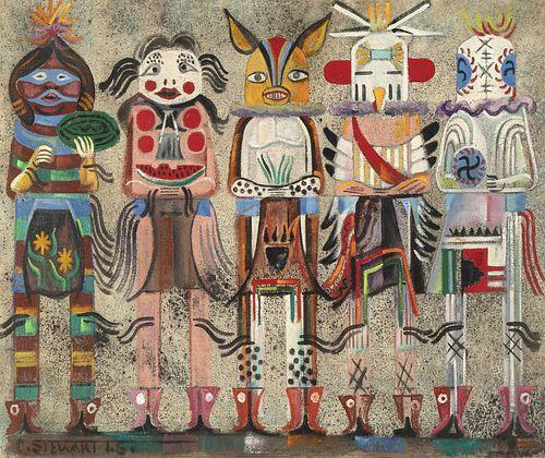Charles Stewart, Hopi Clowns and Glutens