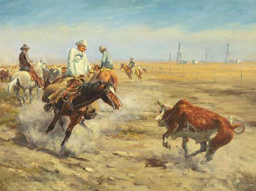 George Phippen, Texas Cattleman - Oil Man, 1949