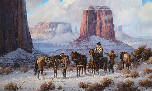 Martin Grelle, The Wood Gatherers, 1989