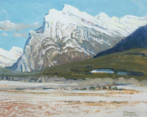 Robert Lougheed, Mount Rundle