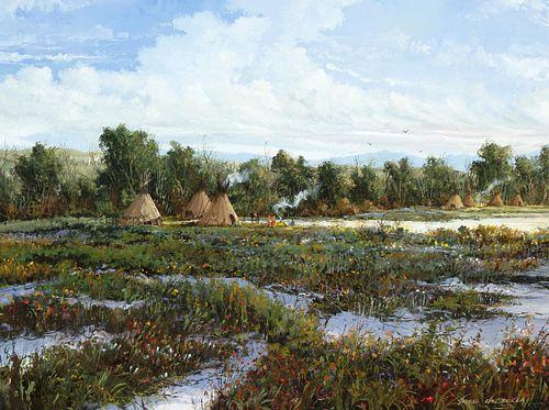 Thomas de Decker, North Country Native American Encampment