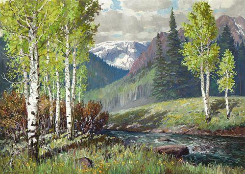 Ben Turner, Untitled (Mountain Stream)