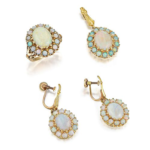 Vintage Opal Set