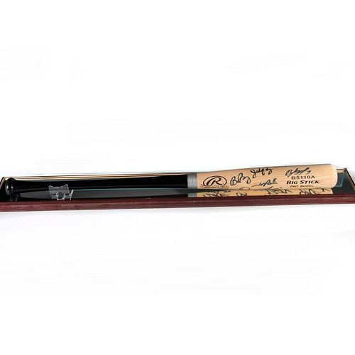2014 World Series San Francisco Giants Team Signed Baseball Bat