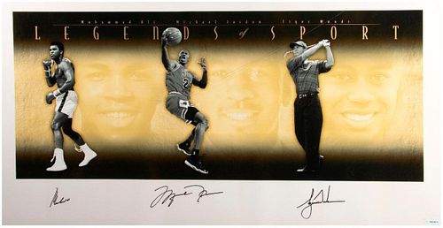 "Autographed ""Legends of Sports"""