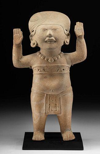 Veracruz Pottery Sonriente Figure - Depicting a Child