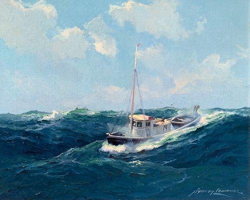 Sydney Laurence (1865–1940): Alaskan Halibut Fisher (circa 1928)