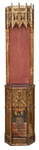 Gothic Spanish Shrine Cabinet