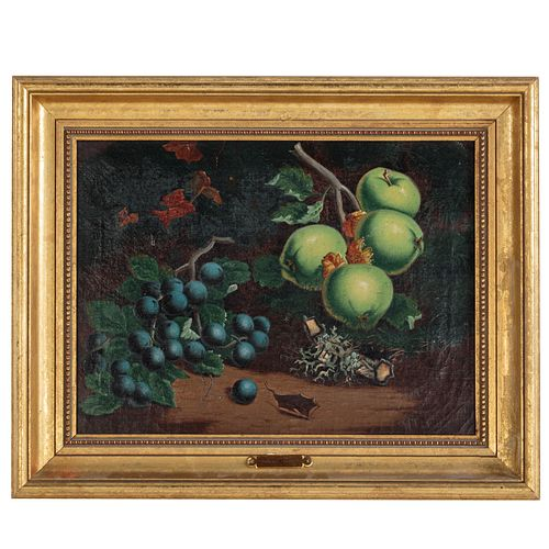 W. Levin. Still Life with Fruit, oil