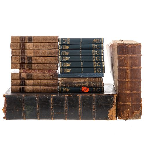 Assorted Antiquarian Book Sets & Two Bibles