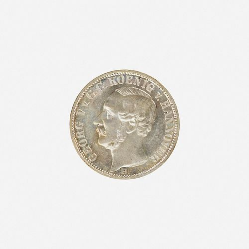 Twenty-five German Silver Coins