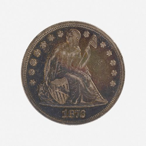 U.S. 1872 Seated Liberty $1 Coin