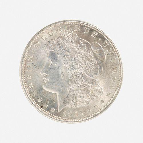 Forty-seven U.S. 1921 Morgan S$1 Coins