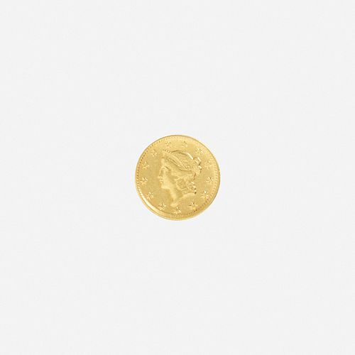 U.S. 1851-D Liberty $1 Gold Coin