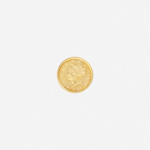 U.S. 1852 Liberty $1 Gold Coin